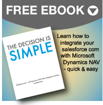 integrate salesforce with ms dynamics nav