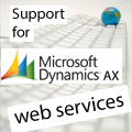 MS Dynamics AX Integration: Support for MS Dynamics AX AIF Web Services