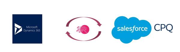 Salesforce CPQ MS Dynamics ERP integration