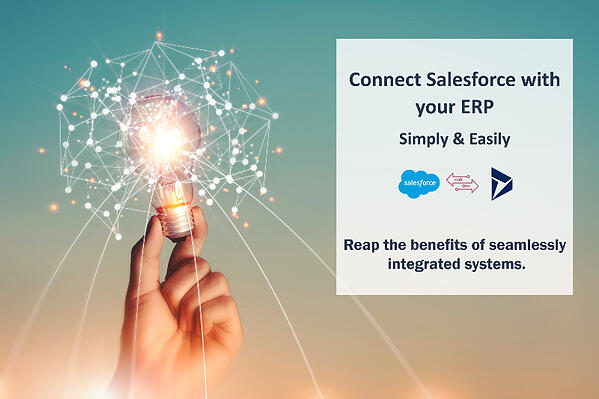 better salesforce with erp insight