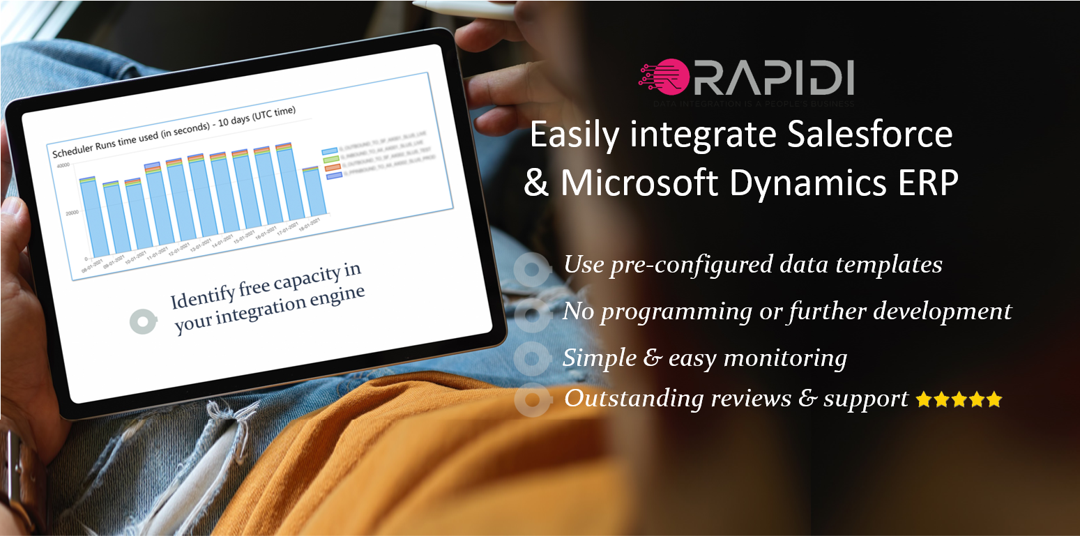 easily integrate salesforce with ms dynamics 365